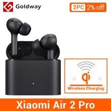 Xiaomi-auriculares inalámbricos Air 2 Pro con TWS, cascos con Bluetooth Airdots 2 Pro Mi auténticos, con cancelación de ruido ambiental y 3 micrófonos ENC