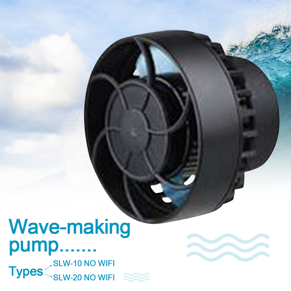 SLW-10 SLW-20 Powerful Easy Install Fish Aquarium Pet Strong Frequency Conversion Tank Quiet Water Wave Pump Flow Maker Mini image