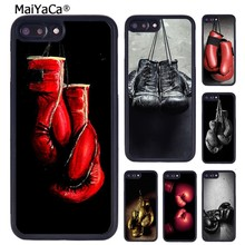 Maiyaca Tinju Sarung Tangan Cetak Mobile Phone Case untuk iPhone 11 Pro Max X XR X Max 6 6S 7 8 plus 5 5S TPU Cover(China)