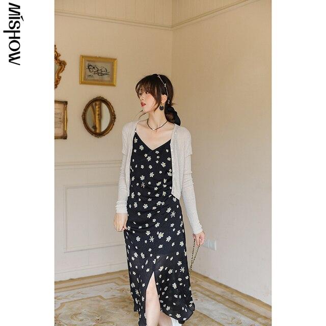 MISHOW Summer Cardigan Women Casual Transparent Solid Long Sleeve Fashion Thin Jacket Female Clothing MXA24Z0013 5