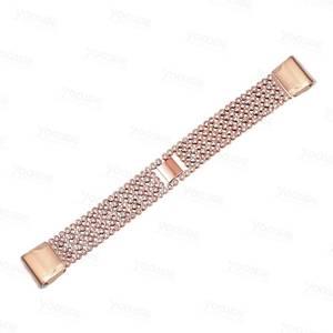 Image 5 - YOOSIDE Fenix 6S מהיר Fit נשים צמיד 20mm קריסטל בלינג סגסוגת מתכת להקת שעון רצועת עבור Garmin Fenix 5S/5S בתוספת