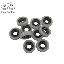 Packaged plastic bearings polyurethane pulley plastic package plastic bearing bore 8mm  8*22*7 5pcs/lot