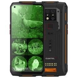 OUKITEL WP7 8000 мАч NFC 6,53 ''инфракрасный мобильный телефон с ночным видением 8 Гб 128 ГБ Восьмиядерный 48 МП тройные камеры 4G прочный смартфон