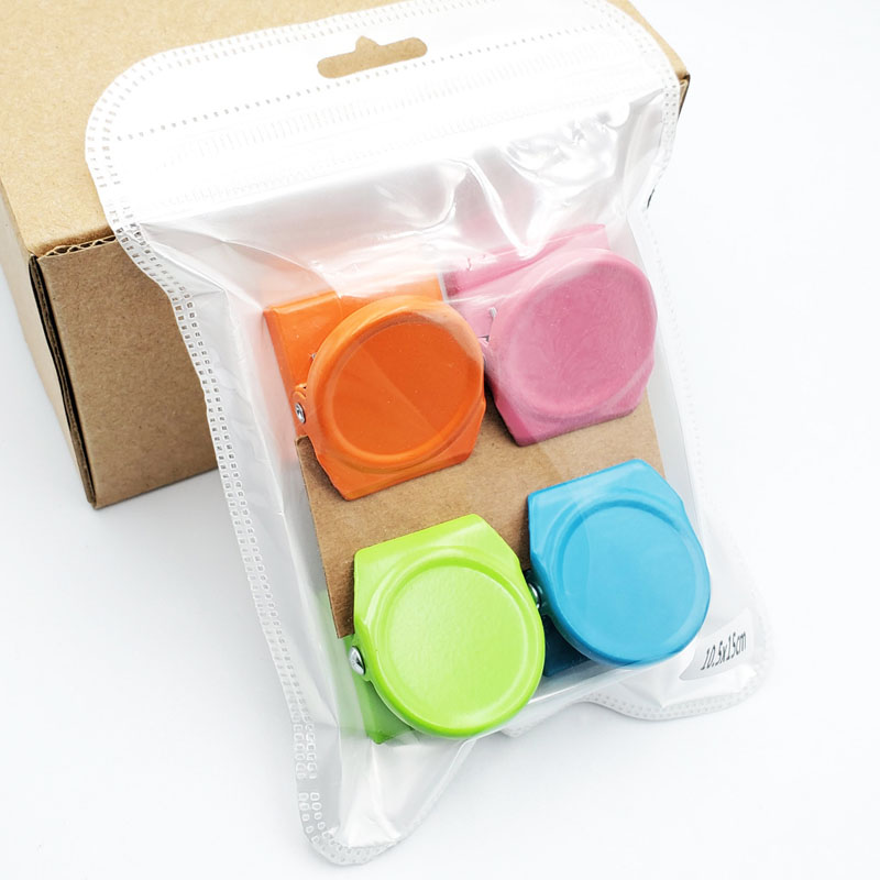 4pcs/lot Colorful Duty Refrigerator Whiteboard Magnet Clip Photo  Paper Clips Decorative  Office Supplies Binder Clip