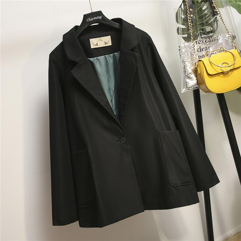 Coats Female Outerwear Blazers Jackets Suits Autumn Office Lady Casual Large-Size 4XL