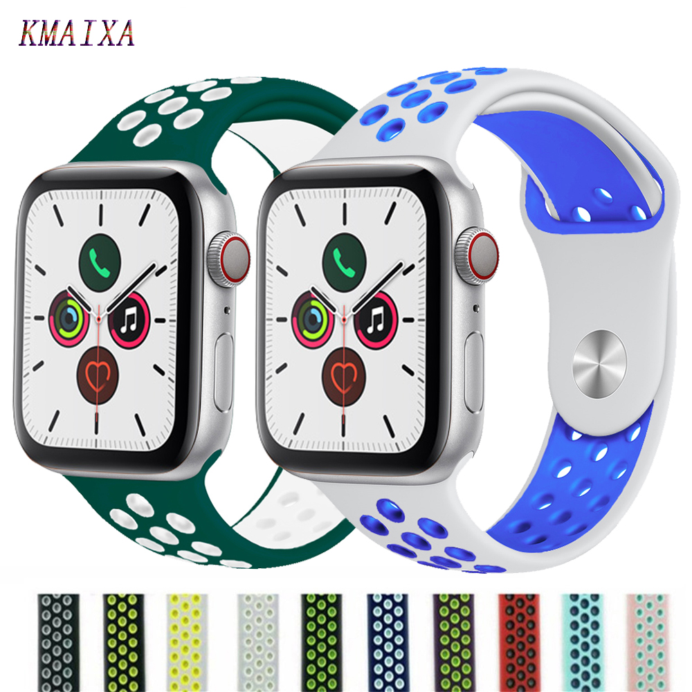 Sport Strap For Apple Watch Band 44mm/40mm Apple Watch 5 4 Band Iwatch Band 5 42mm/38mm Correa Bracelet Belt 3 Watch Accessories