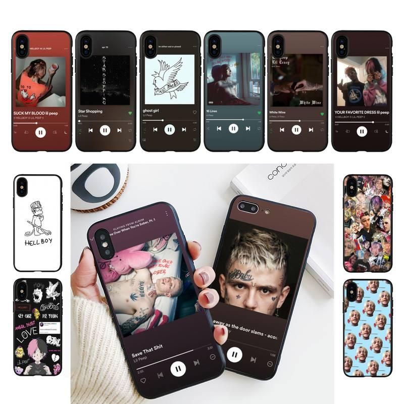 Lil Peep Hellboy Love album cover Phone Case For iPhone 11 8 7 6 6S 7 plus 8 plus X XS MAX 5 5S XR 12 11 Pro max se 2020 Case
