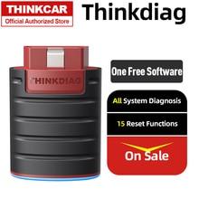 THINKCAR محول السيارة Thinkdiag obd2 ، ماسح ضوئي للسيارة ، أداة تشخيص السيارة ، الماسح الضوئي التلقائي ، قارئ رمز الخطأ