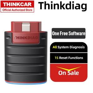 Image 1 - Thinkcar thinkdiag bluetooth obd2 scanner adaptador carro obdii ferramenta de diagnóstico scann automotivo diagnóstico leitor de código falha