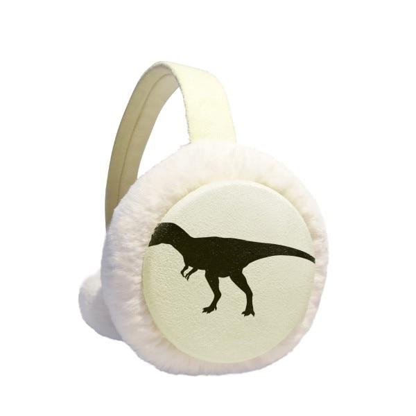 Miniature Dinosaur Bones Bone Winter Earmuffs Ear Warmers Faux Fur Foldable Plush Outdoor Gift