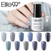 Elite99 дизайн ногтей маникюр 36 цветов 7 мл замачиваемый эмалированный Гель-лак УФ-гель Гибридный гвоздь лак