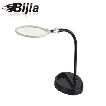 BIJIA lámpara iluminada lupa de escritorio marco de Metal lectura periódico aprendizaje MG15119