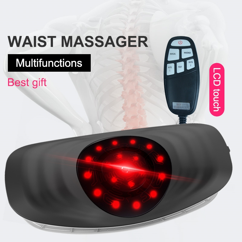 Electric Lumbar Traction Machine Waist Massager Vibration Massage Support Lumbar Spine Relieve Waist fatigue|Relaxation Treatments| - AliExpress
