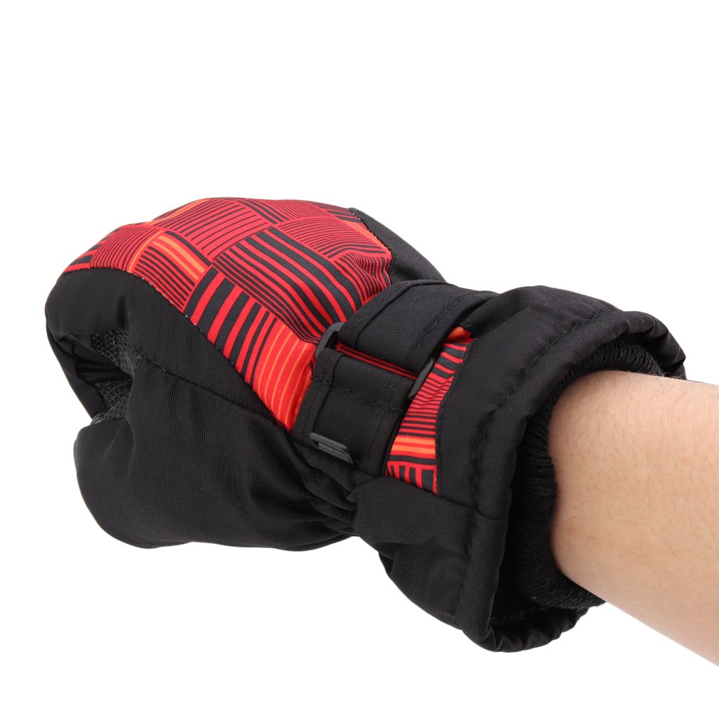 Snowmobile Motorcycle Riding Gloves Waterproof Winter Warm Gloves Unisex Ski Gloves Women Men Snowboard Mittens