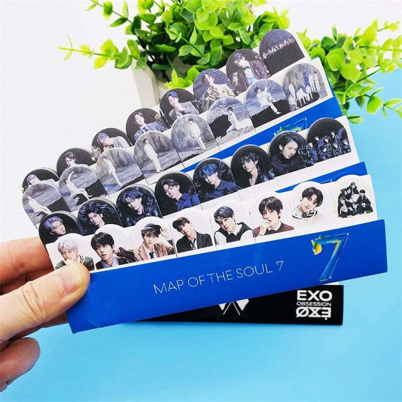 240 Pages KPOP Bangtan Boys Stray Kids EXO Map Of The Soul 7  Sticky Paper Stationery JUNG KOOK JIMIN JIN SUGA J-HOPE Jh120