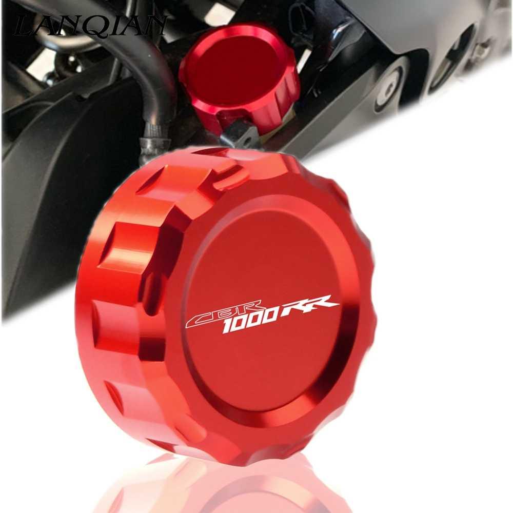 لهوندا CBR1000 RR CBR1000RR CBR 1000RR 2004 2005 2006 2007-2016 دراجة نارية CNC الألومنيوم الخلفية سائل الفرامل خزان غطاء كاب