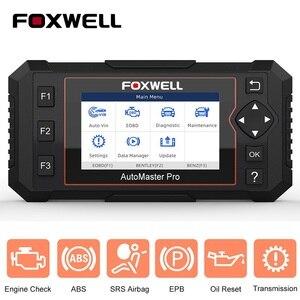 Image 1 - FOXWELL NT614 Elite OBD OBD2 Scanner Four System EPB Oil Service Reset OBDII Automotive Scanner Professional Car Diagnostic Tool