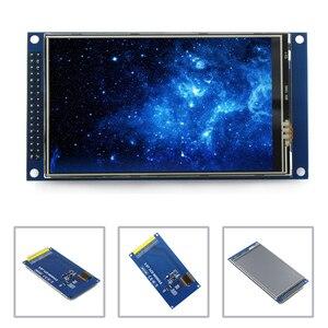 Image 1 - EQV новый 4 дюймовый на тонкопленочных транзисторах на тонкоплёночных транзисторах ЖК дисплей экран сенсорный экран модуль IPS full view со сверхвысоким разрешением Ultra HD, 800X480 с опорной плиты