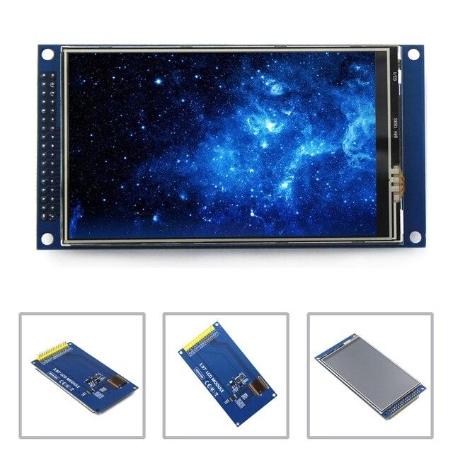 EQV nouveau module décran tactile à écran LCD TFT 4 pouces IPS vue complète Ultra HD 800X480 avec plaque de base