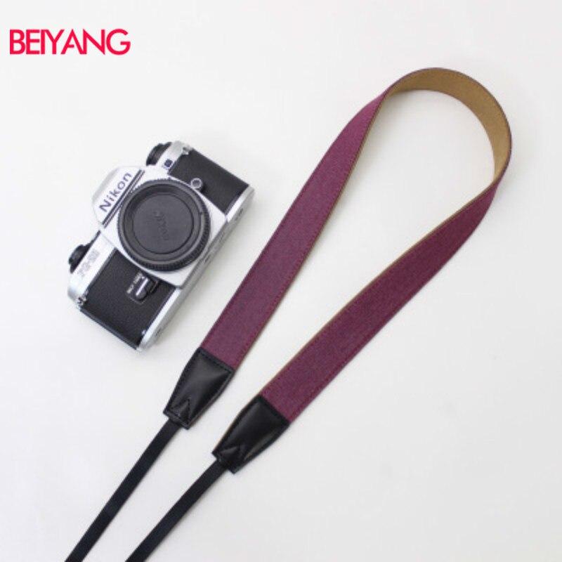 BEIYANG High Quality Quick Carry Speed 3-layer Camera Strap Soft Shoulder Sling Belt Neck Strap For Camera DSLR