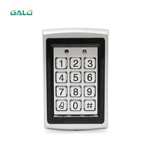Metal Rfid Access Control Keypad Support 1000 Users 125KHz ID Card Reader Electric Digital Password Door Lock raykube access control kit electric strike lock metal case touch keypad frid reader id keyfobs exit