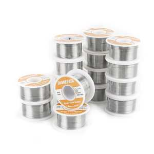 0.60.81.01.2MM 6040 FLUX 2.0% Tin Lead Tin Wire Melt Rosin Core Solder Soldering Wire Roll No-clean