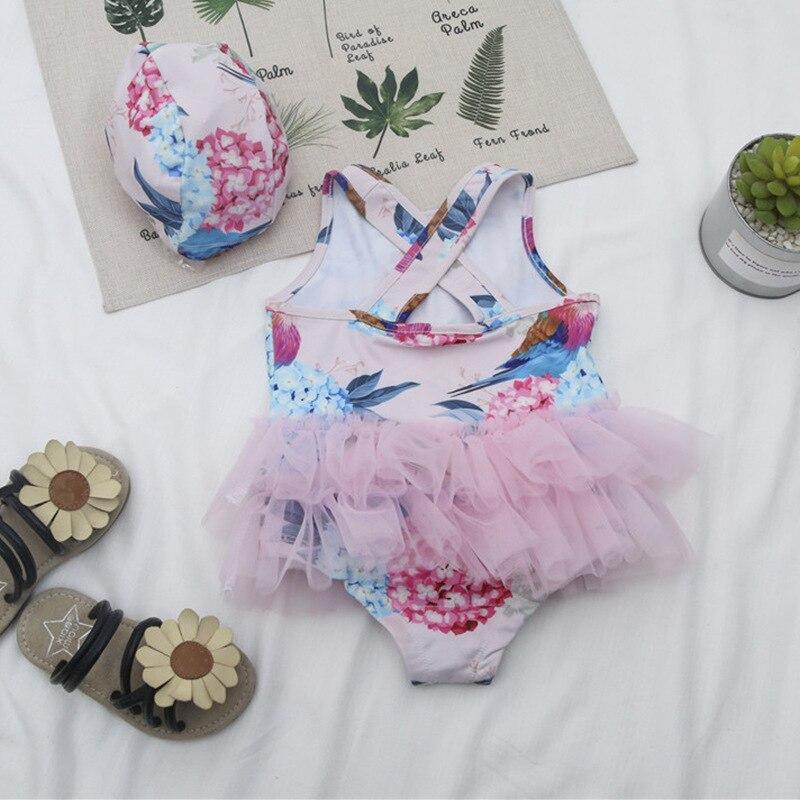 2019 Summer Hot Selling Ballet Tulle Skirt Girls Sweet Cute Dress-Bathing Suit