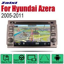 ZaiXi Auto Radio 2 Din Android Car DVD Player For Hyundai Azera 2005~2011 GPS Navigation BT Wifi Map Multimedia system Stereo цена