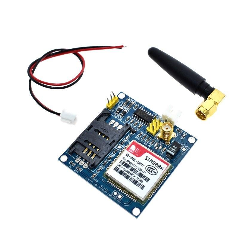 Sim900a mini v4.0 módulo de transmissão dados sem fio gsm gprs placa kit com antena c83