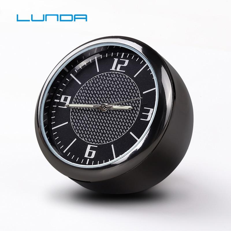 Car clock electronic watch Mini clock Car Decoration customize Logo suitable for Porsche Mercedes BMW Honda VW Audi Nissan
