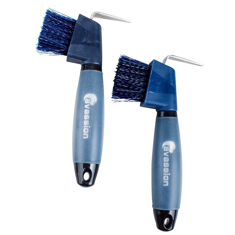 Silicone Brush Horseshoe  Cleaning Tool Hook