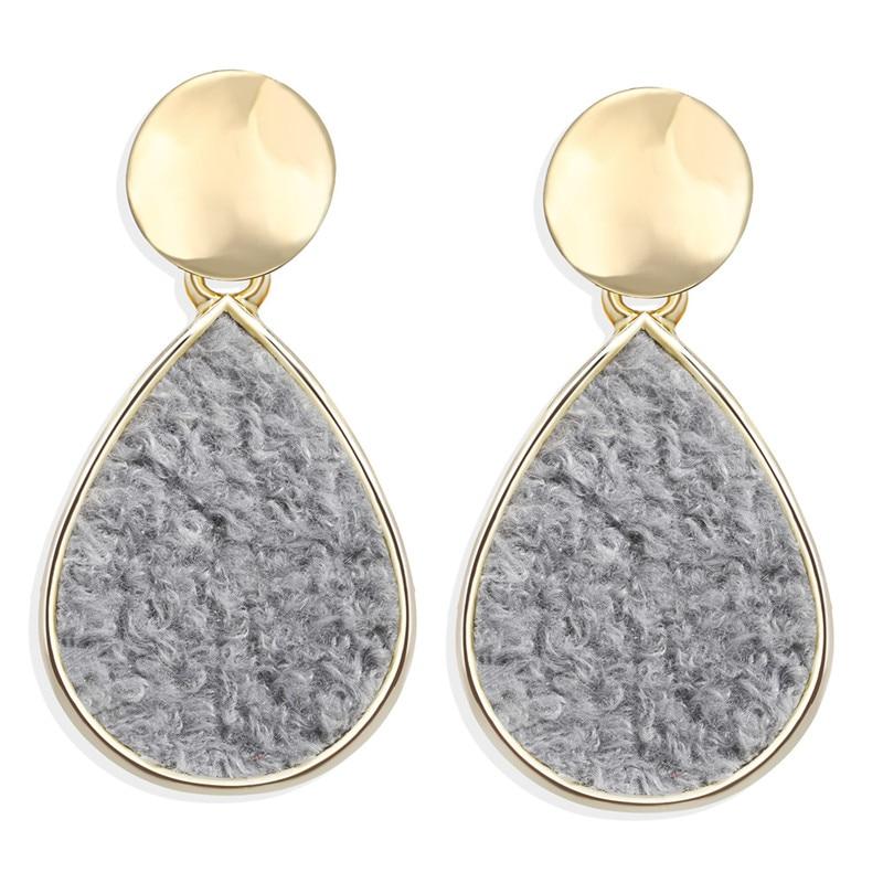 Vintage Earrings 2019 Geometric Shell Earrings For Women Girls BOHO Resin Drop Earrings Brincos Fashion Tortoise Jewelry 29