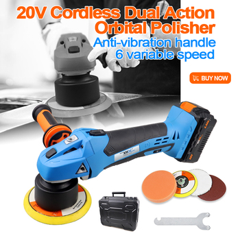 41% Off Dual Action Orbital Polisher Car Waxing Orbital sander 6 Speed 6Speed