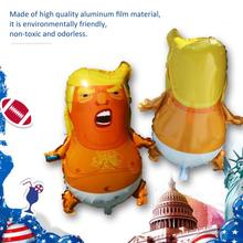 10PCS Birthday Party Balloons Decorations Kids Cartoon Baby Shape Aluminum Foil Ballon Funny Activities Layout Baloon