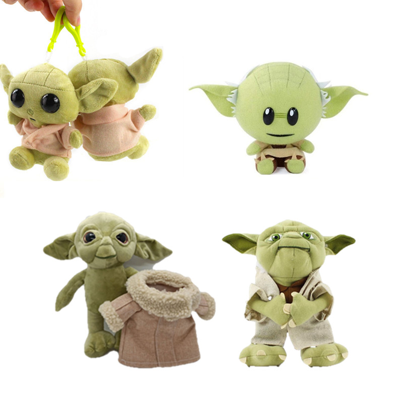 Star Wars Force Awakens Master Baby Yoda 18cm 20cm 30cm Plush Toy Gift For Child Adult