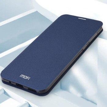 Перейти на Алиэкспресс и купить Чехол Mofi для Xiaomi Redmi note 9, чехол для Redmi 10X 4G, чехол, силиконовая откидная кожа, 360 Защитная откидная крышка, чехол для телефона