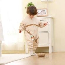 Детский спальный мешок, комбинезон, детская одежда для сна, Детский костюм, комбинезон, раздельные спальные мешки, Комбинезоны для сна