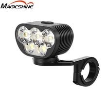 MAGICSHINE MONTEER 6500S ZEUS BIKE FRONT LIGHT XHP50.2 *3 + XML2 *2 LEDs max 6500 lumen beam throw  280 meter 10000mAh battery