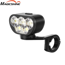MAGICSHINE luz delantera de bicicleta MONTEER 6500S ZEUS, XHP50.2 * 3 + XML2 * 2 Led, haz máximo de 6500 lúmenes, batería de 280 metros y 10000mAh