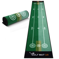 1pc Golf Carpet Mini Putting Ball Pad Practice Mat Machine Washable Indoor Outdoor Golf Practice Office Two-way Training Mat