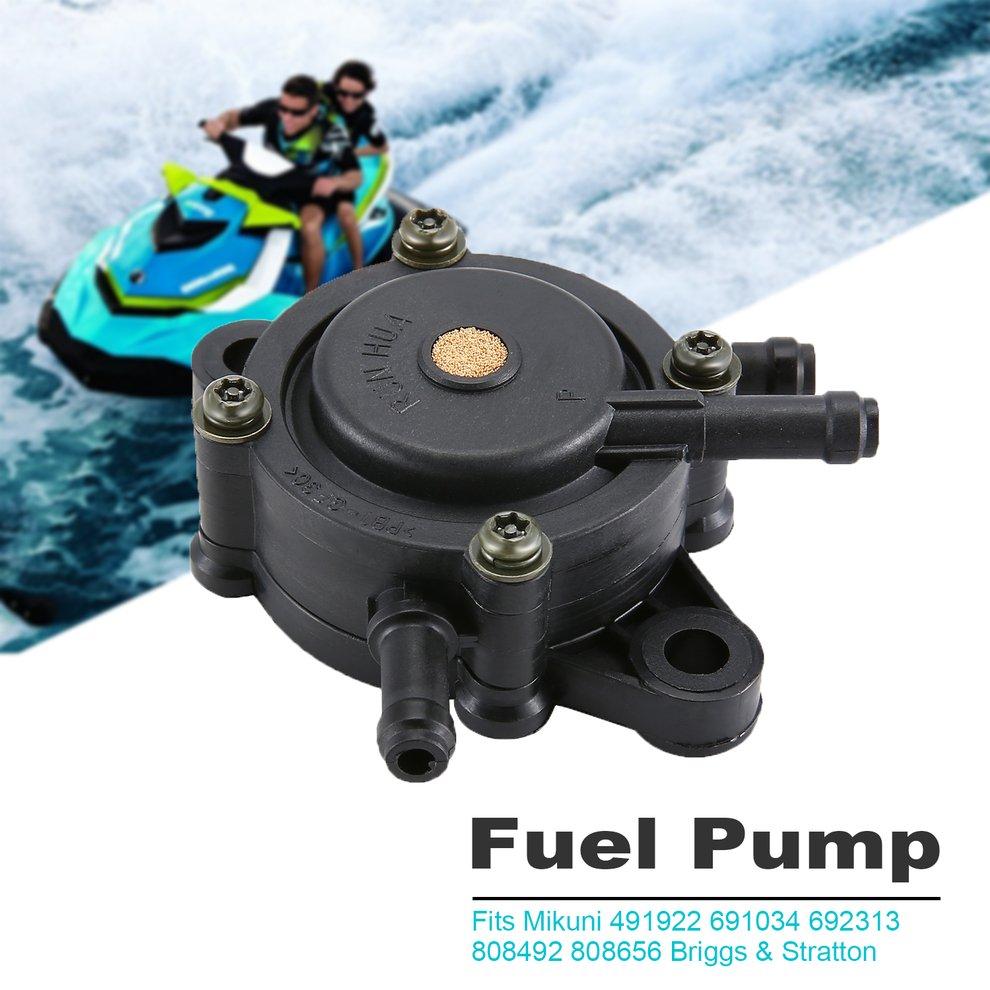 New Fuel Pump For Mikuni 491922 691034 692313 808492 808656 Briggs /& Stratton