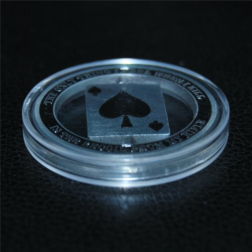 Sniper One Shot One Kill Skull Spinner Military Challenge Coin (7)