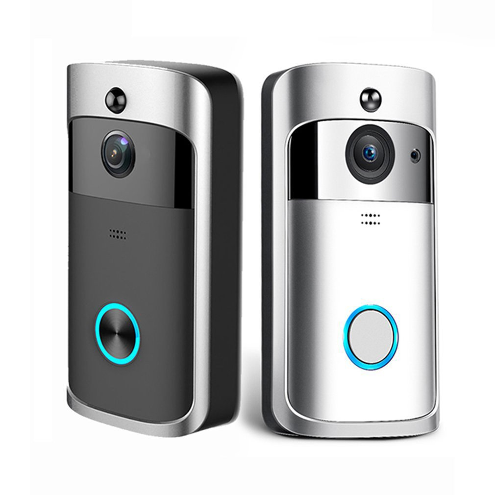 M3 WIFI Smart Video Doorbell Night Vision Wireless Portable Home Door Bell Cordless Phone Intercom Smart Home Parts