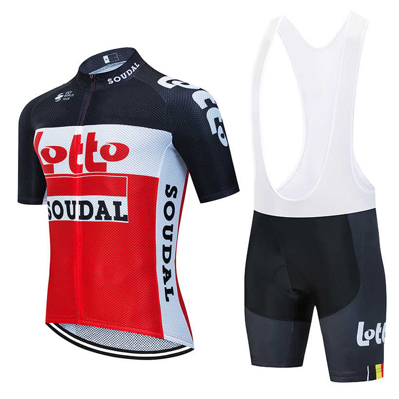 2020 Hommes Pro Team Vélo de route Camouflage Maillot et Bib Short Set