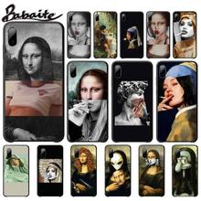 Mona Lisa Phone Case Art Paint Pattern Cases Luxury Cover For Xiaomi Mi A1 A2 Lite Redmi Note 2 3 4 4x 5 5a 6 Phone Accessories mona lisa phone case art paint pattern cover luxury case for xiaomi mi a1 a2 lite redmi note 2 3 4 4x 5 5a 6 accessories