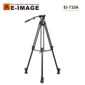 Camera tripod SLR photography 1.8m tripod E-Image 710A professional large mouth bowl portable hydraulic damping