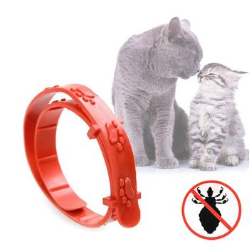Pet Supplies Plastic Mosquitoes Collars Pet Adjustable Protection Neck Repel Remover Pet Supplies Safety Dog Deworming Product image