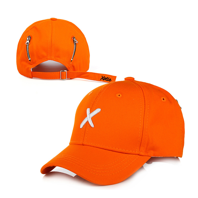 Men'S Embroidered Baseball Cap Solid Color Cotton Hats Fashion Personality Women Sun Caps Adjustable Couple Baseball Cap