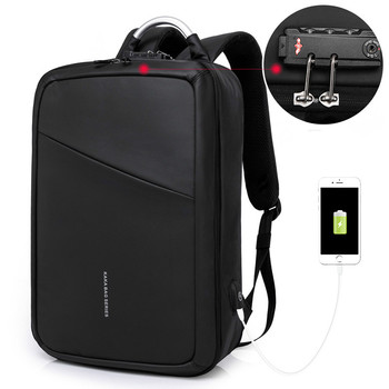 New Student Bag with USB Business Travel Men's Backpack Luxury Anti-theft Computer Backpack High Quality with Lock Backpack