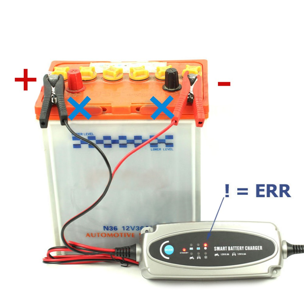 Multi MXS 5.0 12V Car Battery Smart Trickle Charger And Free Indicator EU Car Battery Smart Trickle Charger